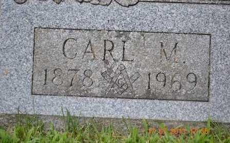 MANNEROW, CARL M. - Branch County, Michigan | CARL M. MANNEROW - Michigan Gravestone Photos