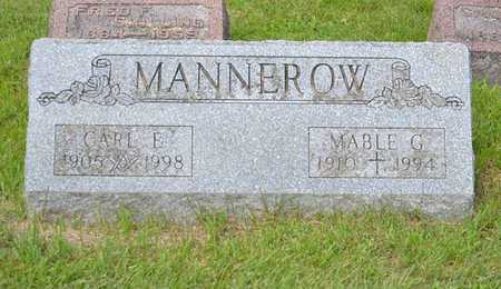 MANNEROW, MABLE G. - Branch County, Michigan | MABLE G. MANNEROW - Michigan Gravestone Photos