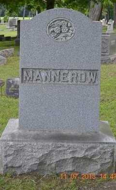 MANNEROW, FAMILY - Branch County, Michigan | FAMILY MANNEROW - Michigan Gravestone Photos