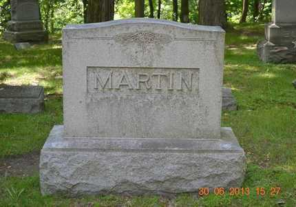 MARTIN, FAMILY - Branch County, Michigan | FAMILY MARTIN - Michigan Gravestone Photos