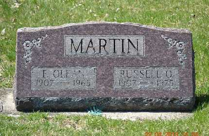 MARTIN, RUSSELL O. - Branch County, Michigan | RUSSELL O. MARTIN - Michigan Gravestone Photos