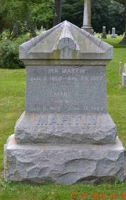 MARTIN, IRA - Branch County, Michigan | IRA MARTIN - Michigan Gravestone Photos