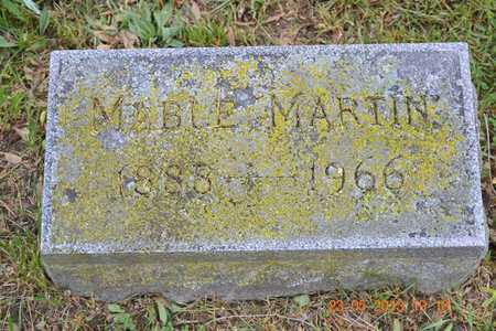MARTIN, MABLE - Branch County, Michigan   MABLE MARTIN - Michigan Gravestone Photos