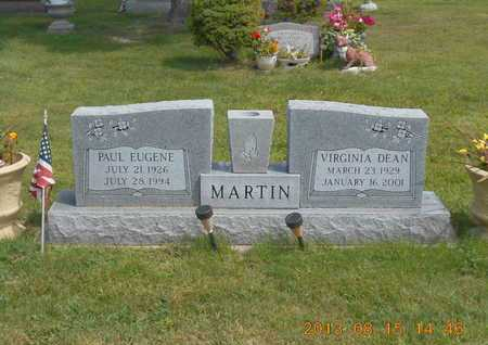 MARTIN, PAUL EUGENE - Branch County, Michigan | PAUL EUGENE MARTIN - Michigan Gravestone Photos
