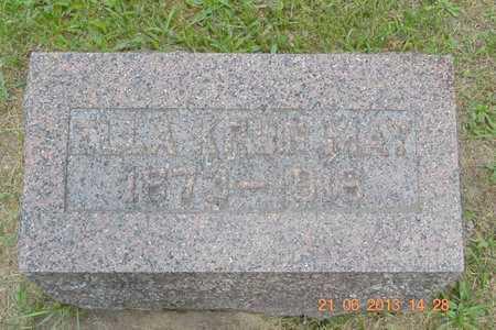MAY, ELLA - Branch County, Michigan | ELLA MAY - Michigan Gravestone Photos