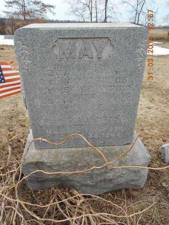 MAY, FAMILY - Branch County, Michigan | FAMILY MAY - Michigan Gravestone Photos
