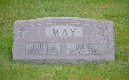 MAY, IRENE - Branch County, Michigan | IRENE MAY - Michigan Gravestone Photos