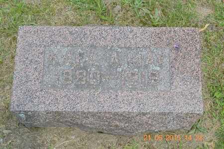 MAY, KARL A. - Branch County, Michigan | KARL A. MAY - Michigan Gravestone Photos