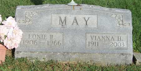 MAY, LONIE - Branch County, Michigan | LONIE MAY - Michigan Gravestone Photos