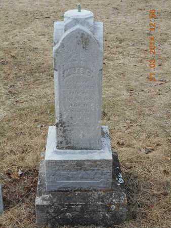MAY, MILES C. - Branch County, Michigan | MILES C. MAY - Michigan Gravestone Photos