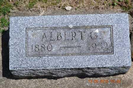 MCCLISH, ALBERT G. - Branch County, Michigan   ALBERT G. MCCLISH - Michigan Gravestone Photos