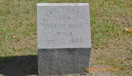 MCCRARY, LEROY - Branch County, Michigan   LEROY MCCRARY - Michigan Gravestone Photos