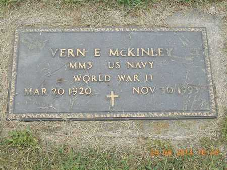 MCKINLEY, MM3 VERN E. - Branch County, Michigan   MM3 VERN E. MCKINLEY - Michigan Gravestone Photos