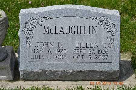 MCLAUGHLIN, JOHN D. - Branch County, Michigan | JOHN D. MCLAUGHLIN - Michigan Gravestone Photos