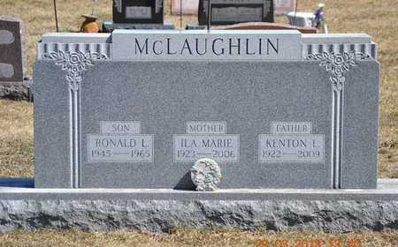 MCLAUGHLIN, ILA MARIE - Branch County, Michigan | ILA MARIE MCLAUGHLIN - Michigan Gravestone Photos