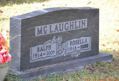 MCLAUGHLIN, ROSELLA - Branch County, Michigan | ROSELLA MCLAUGHLIN - Michigan Gravestone Photos