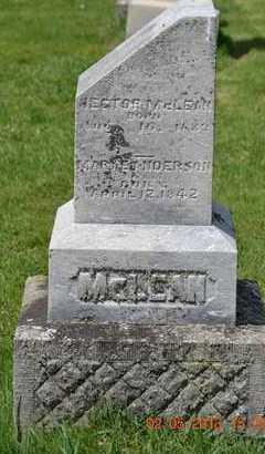 MCLEAN, MARY E. - Branch County, Michigan | MARY E. MCLEAN - Michigan Gravestone Photos