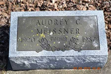 MEISSNER, AUDREY C. - Branch County, Michigan | AUDREY C. MEISSNER - Michigan Gravestone Photos