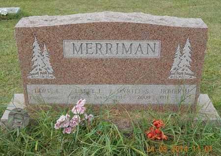 MERRIMAN, DORIS I. - Branch County, Michigan | DORIS I. MERRIMAN - Michigan Gravestone Photos