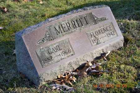 MERRITT, CARL - Branch County, Michigan   CARL MERRITT - Michigan Gravestone Photos