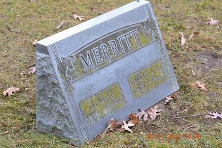 MERRITT, IRENE G. - Branch County, Michigan | IRENE G. MERRITT - Michigan Gravestone Photos