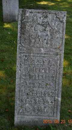 MERRITT, MARY A. - Branch County, Michigan | MARY A. MERRITT - Michigan Gravestone Photos