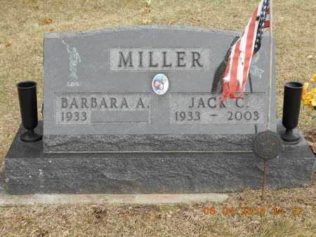MILLER, JACK C. - Branch County, Michigan | JACK C. MILLER - Michigan Gravestone Photos