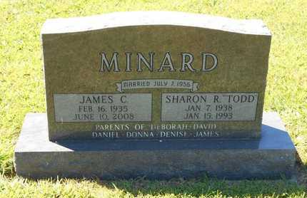 TODD MINARD, SHARON R. - Branch County, Michigan | SHARON R. TODD MINARD - Michigan Gravestone Photos