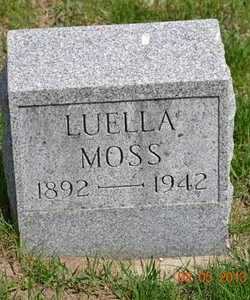MOSS, LUELLA - Branch County, Michigan | LUELLA MOSS - Michigan Gravestone Photos