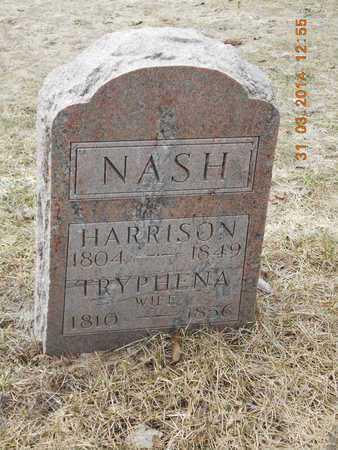 NASH, TRYPHENA - Branch County, Michigan | TRYPHENA NASH - Michigan Gravestone Photos