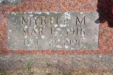 NASH, MYRTLE M. - Branch County, Michigan | MYRTLE M. NASH - Michigan Gravestone Photos