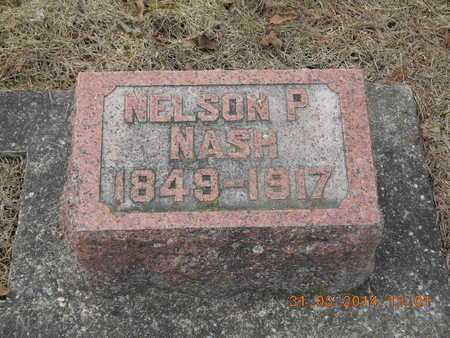 NASH, NELSON P. - Branch County, Michigan | NELSON P. NASH - Michigan Gravestone Photos