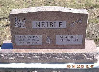 NEIBLE, SHARON L. - Branch County, Michigan   SHARON L. NEIBLE - Michigan Gravestone Photos