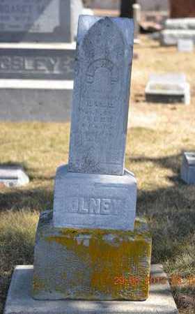 OLNEY, CLARA B. - Branch County, Michigan | CLARA B. OLNEY - Michigan Gravestone Photos