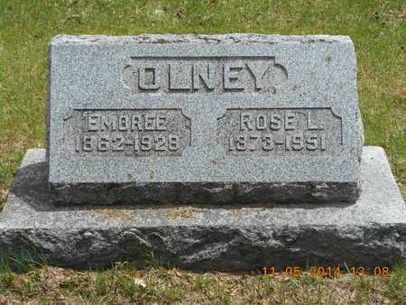 OLNEY, ROSE L. - Branch County, Michigan | ROSE L. OLNEY - Michigan Gravestone Photos