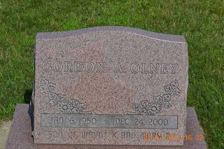 OLNEY, GORDON A. - Branch County, Michigan | GORDON A. OLNEY - Michigan Gravestone Photos