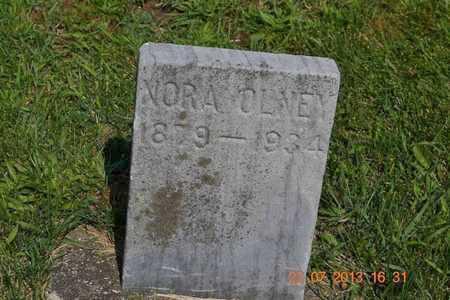 OLNEY, NORA - Branch County, Michigan   NORA OLNEY - Michigan Gravestone Photos