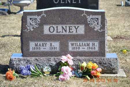 OLNEY, WILLIAM H. - Branch County, Michigan | WILLIAM H. OLNEY - Michigan Gravestone Photos