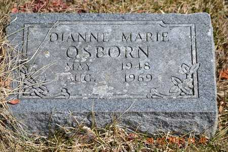 OSBORN, DIANNE MARIE - Branch County, Michigan   DIANNE MARIE OSBORN - Michigan Gravestone Photos