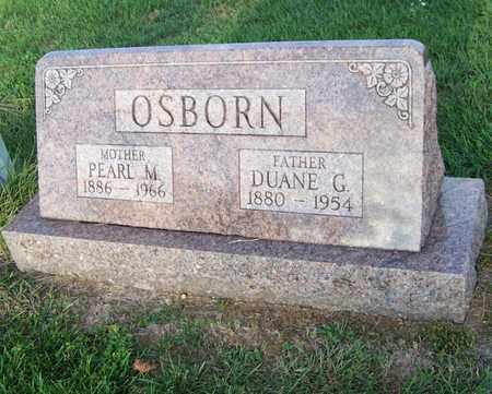 OSBORN, DUANE - Branch County, Michigan | DUANE OSBORN - Michigan Gravestone Photos