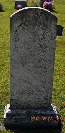 OSBORN, FENNER P. - Branch County, Michigan | FENNER P. OSBORN - Michigan Gravestone Photos