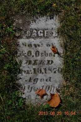 OSBORN, GEORGE S. - Branch County, Michigan | GEORGE S. OSBORN - Michigan Gravestone Photos