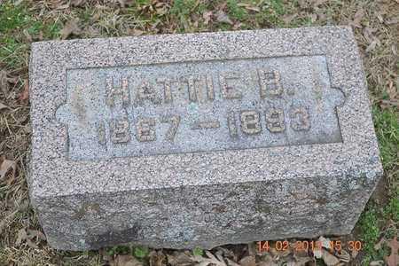 OSBORN, HATTIE B. - Branch County, Michigan | HATTIE B. OSBORN - Michigan Gravestone Photos