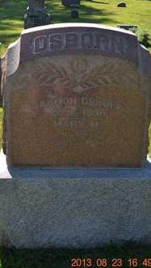 OSBORN, HARMON - Branch County, Michigan | HARMON OSBORN - Michigan Gravestone Photos