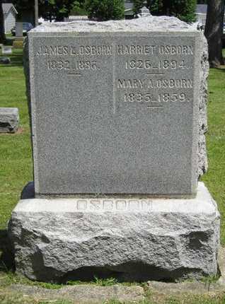 OSBORN, HARRIET - Branch County, Michigan   HARRIET OSBORN - Michigan Gravestone Photos