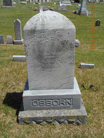 OSBORN, JOSHUA - Branch County, Michigan | JOSHUA OSBORN - Michigan Gravestone Photos