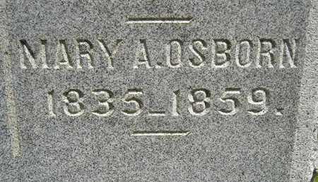 OSBORN, MARY A. - Branch County, Michigan | MARY A. OSBORN - Michigan Gravestone Photos