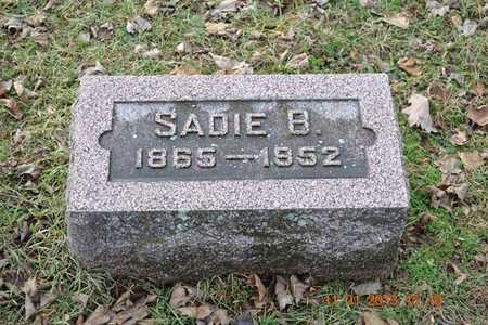 OSBORN, SADIE A. - Branch County, Michigan | SADIE A. OSBORN - Michigan Gravestone Photos