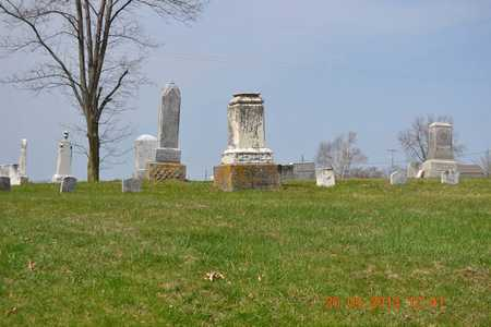 OVERVIEW, CEMETERY - Branch County, Michigan | CEMETERY OVERVIEW - Michigan Gravestone Photos