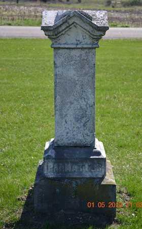 PALMATEER, EDDA - Branch County, Michigan | EDDA PALMATEER - Michigan Gravestone Photos